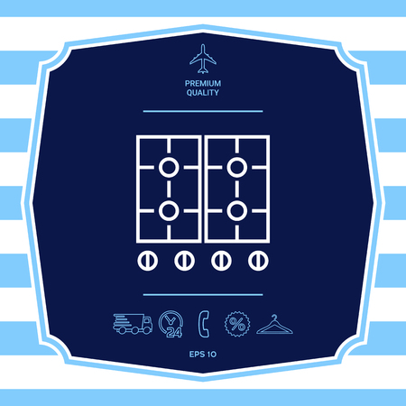 Cooking surface icon. Element for your design