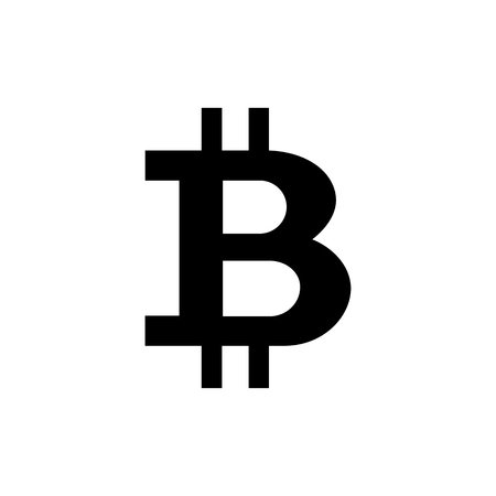 Bitcoin cryptocurrency symbol. Element for your design Banque d'images - 123300069