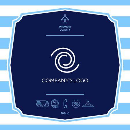 Logo - two spirals