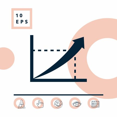 Graphic symbol icon. Elements for your design Illustration