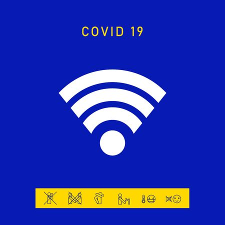 Internet connection icon. Elements for your design