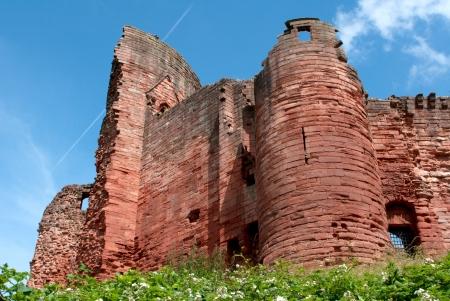 turret: Bothwell castle in Scotland