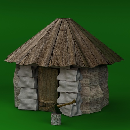 Hut Stock Photo - 8502282