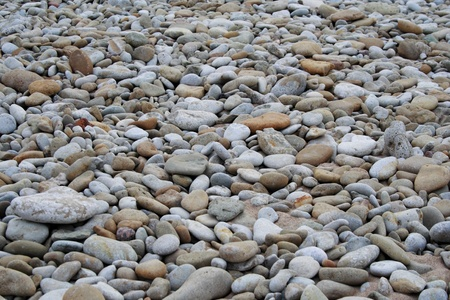 Photo shot of the smooth beach stones Stock Photo - 9586280