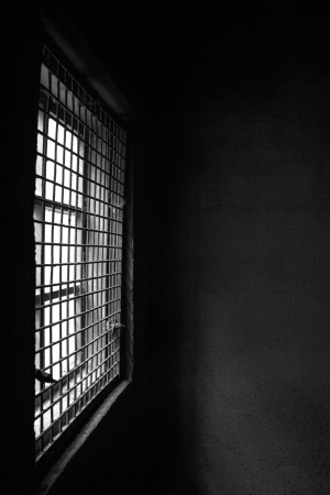Grate protect from robbers get inside from window Stock Photo - 14644167