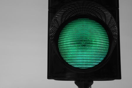 trafficlight: Trafficlight which warning car drivers about to stop