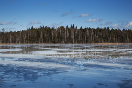melt: A frozen lake is about to melt