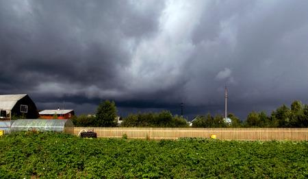 thunderstorm: before thunderstorm