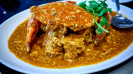 The famous Chilli Crab of Singapore is a restaurant located in Clarke Quay.