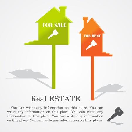 Les enseignes de maisons (vente et location).