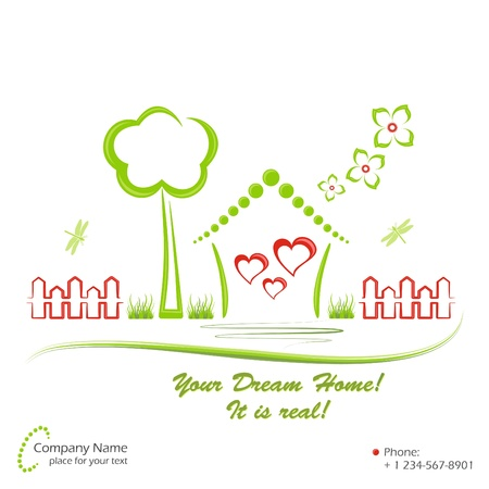 Dream home Stock Vector - 11209227