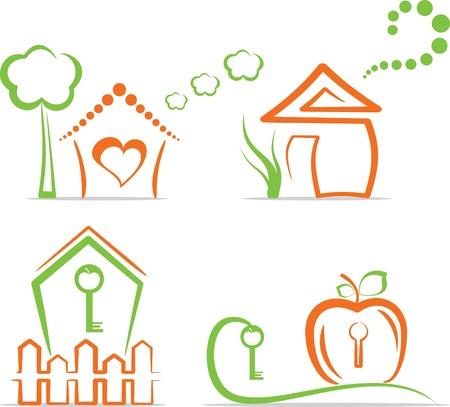 garden key: Home (icons) Illustration