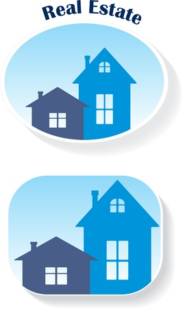 Real Estate (icons) Stock Vector - 11298007