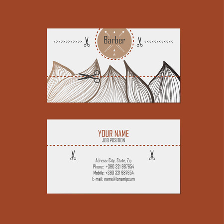 Alternative design business cards for hairdresser barber royalty alternative design business cards for hairdresser barber stock vector 28600144 reheart Choice Image