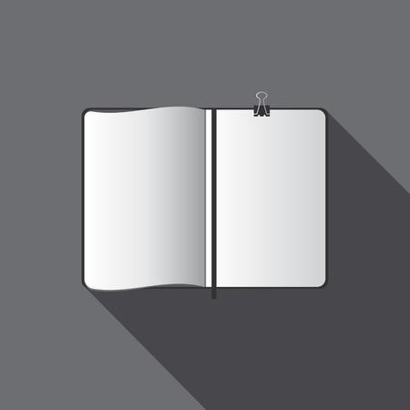 umschwung: Vektor wei�e leere Vorlage f�r Design Illustration