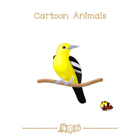 icon series: vector illustration collection Cartoon Animals. Iora