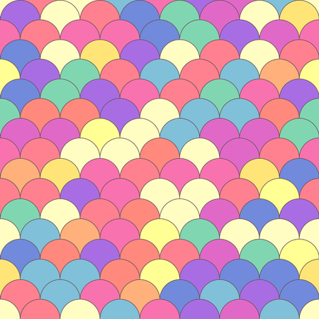 Vector colorful geometric seamless pattern. Mosaic texture concept. 032