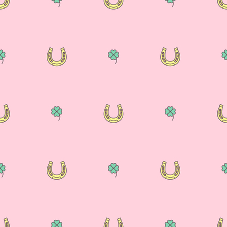 Vector cute seamless pattern. Colorful texture concept. 006