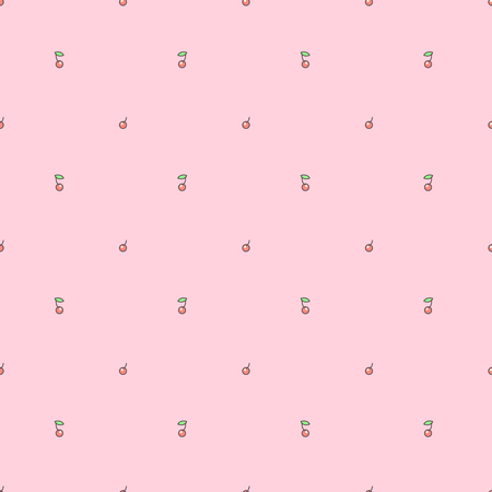 Vector sweet seamless pattern. Colorful cute texture concept. 027 Çizim
