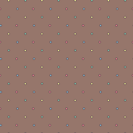 Vector cute seamless pattern. Colorful texture concept. 009 Ilustração