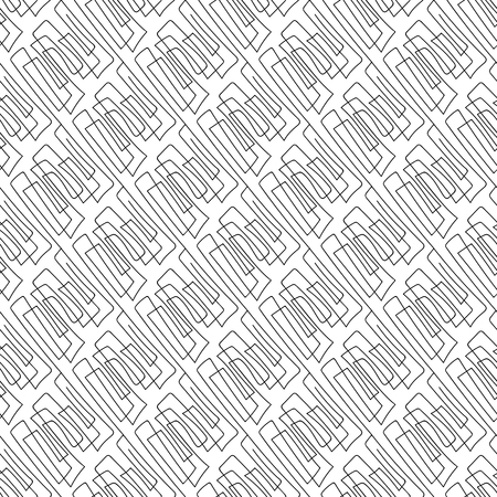 Vector black and white seamless pattern on transparent background. 072