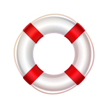 vettore salvagente, salvagente, bagnino, salvagente in mare