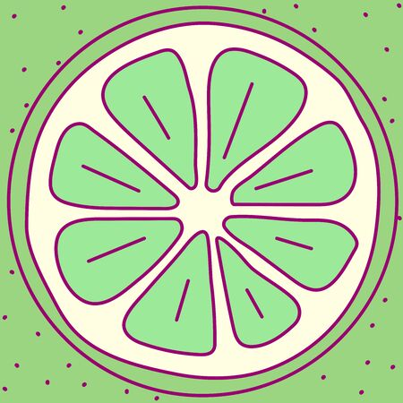 vector template cute fruit. print for disposable tableware Vectores