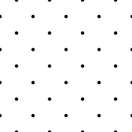 vector black white seamless pattern polka dot