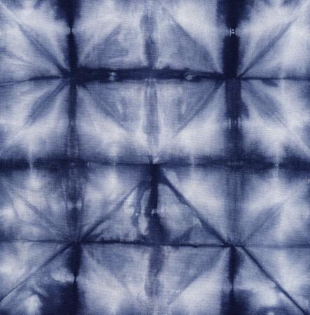 Material dyed batik  Shibori  Standard-Bild