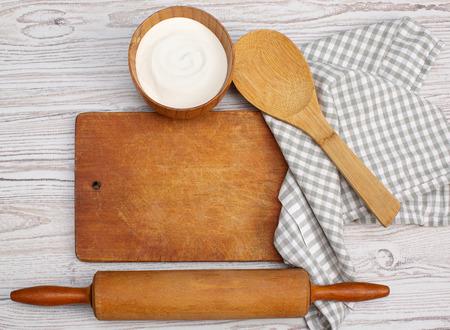 kitchen tools: Koken begrip Ingrediënten en keukengerei