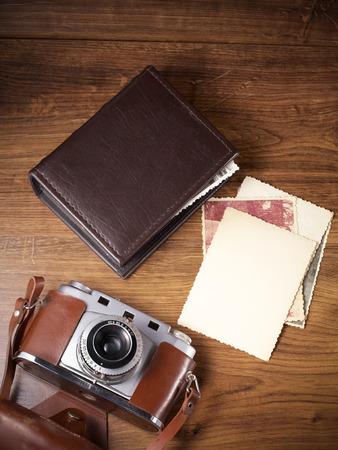 cámara vieja y antigua imágenes álbum, viejos recuerdos