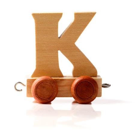 Letter K train photo