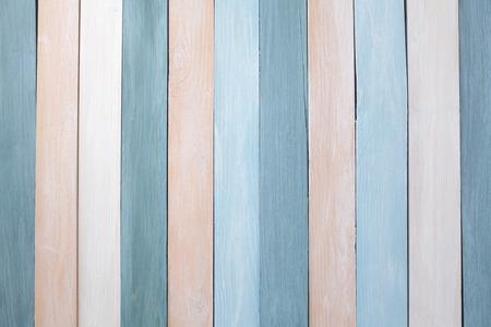 Fondo de pared de madera de colores pastel. Endecha plana