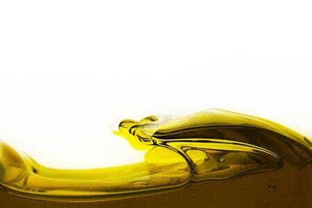 Oil Wave on a white background Reklamní fotografie
