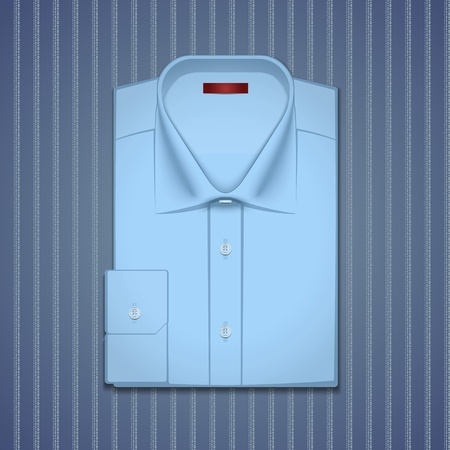 Illustration of a classic shirt