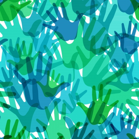 derechos humanos: sin patrón de las palmas