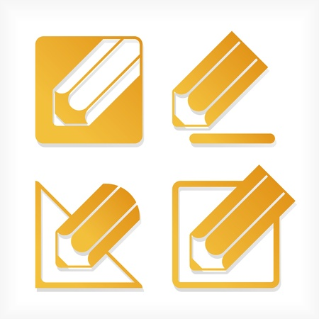Pencil icons Vector