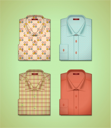 images of men s shirts Illustration