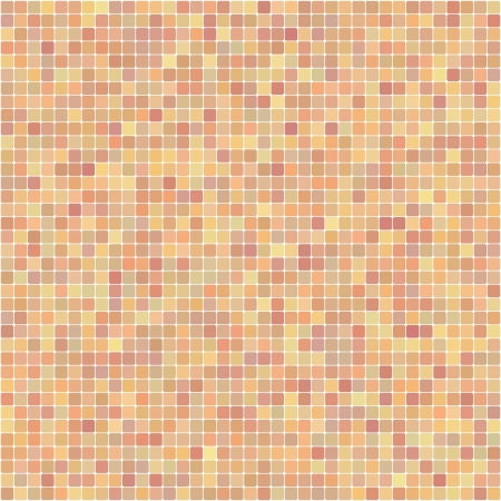 light background of the square mosaic beige