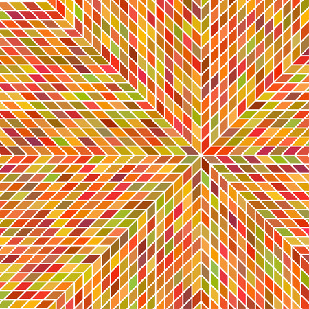 Variegated texture vector of rhombuses imitates Tricot