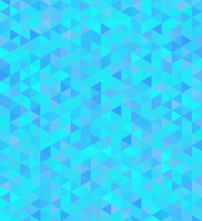 Mosaic seamless background in blue tones Illustration