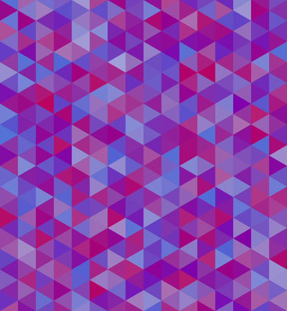 Mosaic seamless background in purple colors
