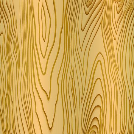 concise: Stock semi-seamless texture of light wood Illustration