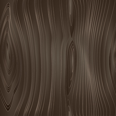 Vector seamless wood texture. Dark wood. Vector