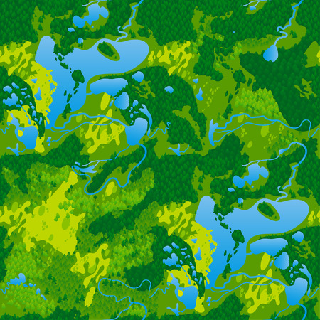 Seamless texture terrain map