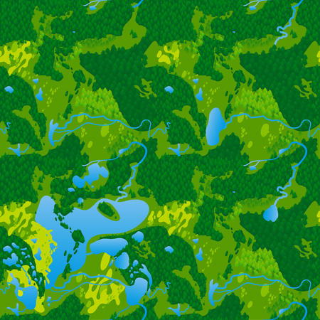 thickets: Seamless texture terrain map