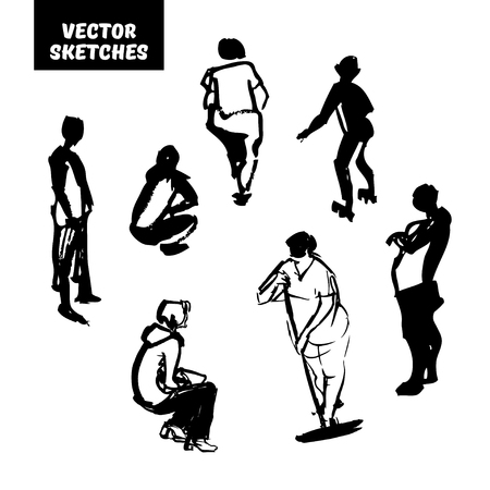 Vector set of sketches