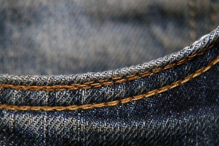 jeans macro Stock Photo