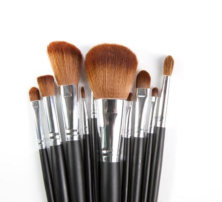 make up tool isolated white background Stock Photo