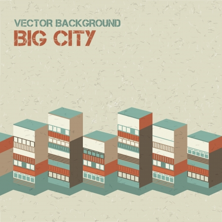 Architectural background  Vector Illustration, contains transparencies  Vector